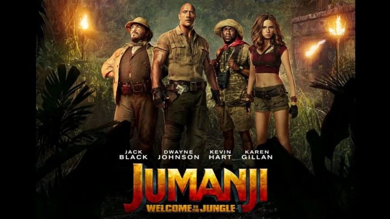 Jumanji: Welcome To The Jungle Movie